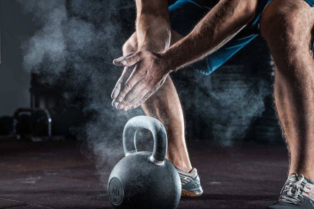 The 2-in-1 kettlebell leg workout