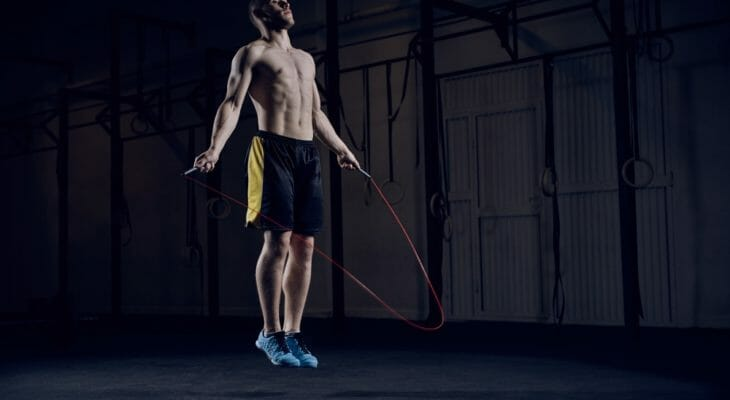 skipping rope workout