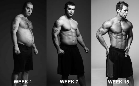 15 weeks transformation