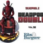 Introducing the DEADPOOL DOUBLE!