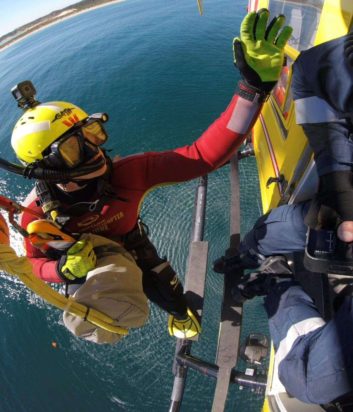 A Day in the Life of a Rescue Helicopter Crewman.