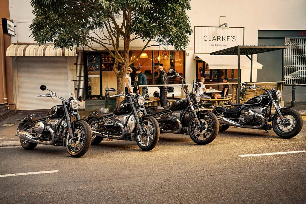 group of BMW-R18s